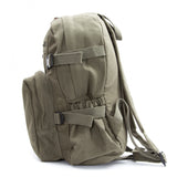 Triathlon Logo Swim Bike Run Cycling Army Sport Heavyweight Canvas Backpack Bag
