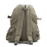 Army Sport Heavyweight Canvas Backpack Bag Bookbag Three Percenter with Ring