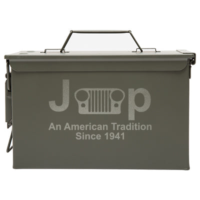 Metal Ammo Can Jeep An American Tradition with Custom Engraving