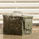 Personalized Engraved Ammo Can Deer Behind a Tree Laser Waterproof Tactical Storage Survival Box