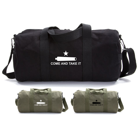 Texas Come And Take It Sport Heavyweight Canvas Duffel Bag