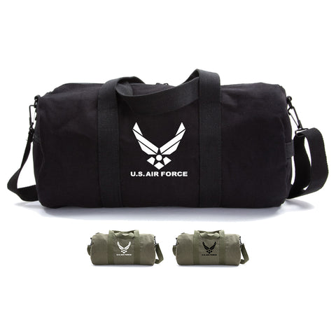 United Sates Air Force Emblem Army Sport Heavyweight Canvas Duffel Bag