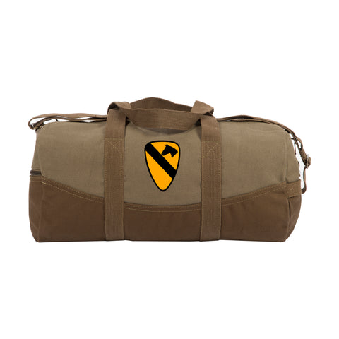 "Army Force Gear US Army 101st Airborne Division Two Tone 19"" Canvas Duffel Bag"