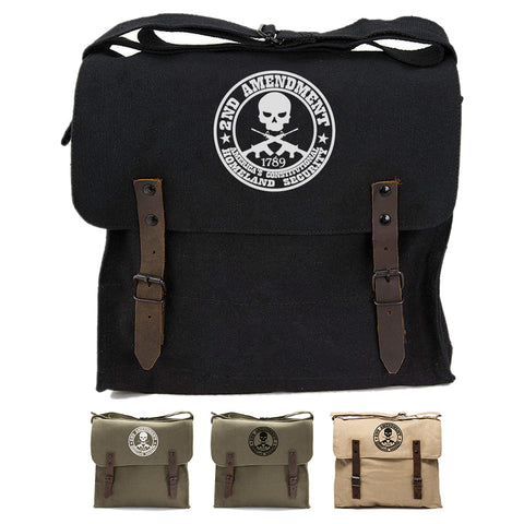2nd Amendment Homeland Security Army Heavyweight Canvas Medic Shoulder Bag