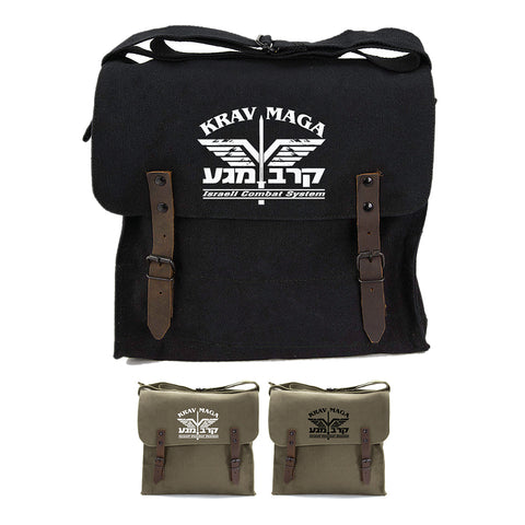 Krav Maga Israeli Combat Martial Arts Canvas Medic Shoulder Bag