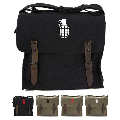 Hand Grenade Army Heavyweight Canvas Medic Shoulder Bag