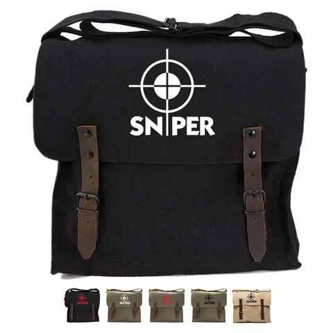 Snipers Scope Army Heavyweight Canvas Medic Shoulder Bag