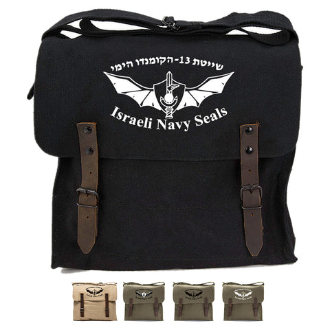 Israeli Navy Seals Army Heavyweight Canvas Medic Shoulder Bag