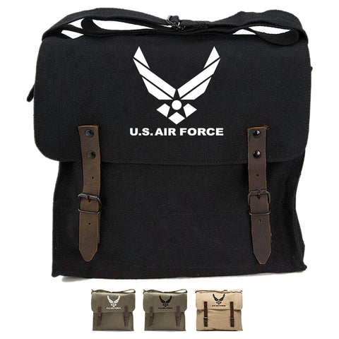 US Air Force Army Heavyweight Canvas Medic Shoulder Bag