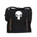 Punisher Skull Heavyweight Canvas Medic Shoulder Bag