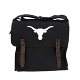 Texas Longhorn Army Heavyweight Canvas Medic Shoulder Bag