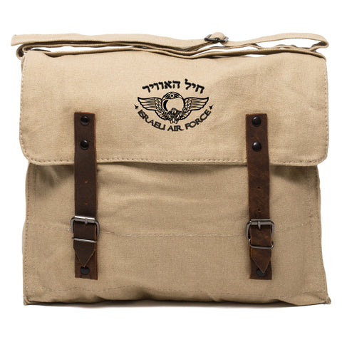 Israeli Air Force Army Heavyweight Canvas Medic Shoulder Bag