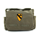 Army Force Gear US Army 101st Airborne Division Canvas Messenger Shoulder Bag