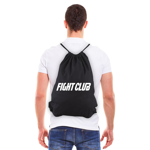 FIGHT CLUB Fighting Boxing Eco-Friendly Cotton Canvas Draw String Bag