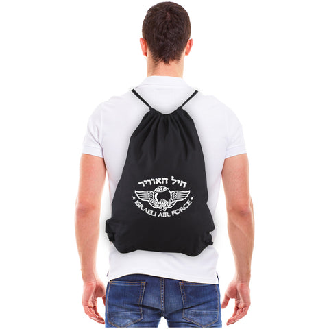 Israeli Air Force Eco-friendly Reusable Canvas Drawstring Bag