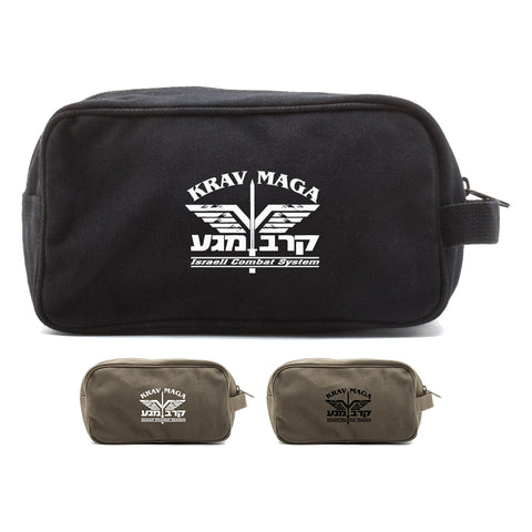 Krav Maga Israeli Combat System Martial Arts Shower Kit Travel Toiletry Bag Case