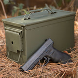 Personalized Engraved Ammo Can Property of Blood Type O+ Pos Waterproof Tactical Storage Survival Box