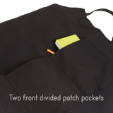 It's Chow Time Unisex Two Pocket Adjustable Apron for BBQ & Kitchen