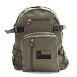Texas Flag Army Sport Heavyweight Canvas Backpack Bag