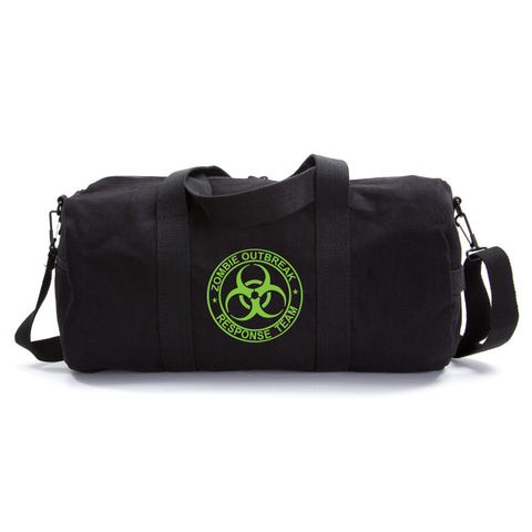 Zombie Outbreak Response Team Sport Heavyweight Canvas Duffel Bag