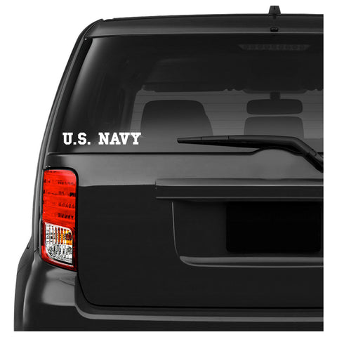 US Navy Car Decal Sticker