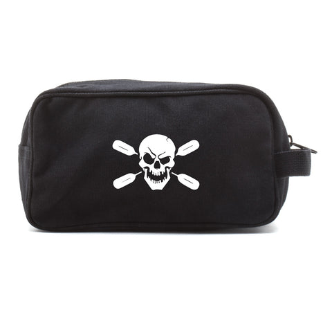 Deadly Kayaker Paddle Canvas Shower Kit Travel Toiletry Bag Case