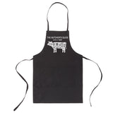 The Butchers Guide Unisex Two Pocket Adjustable Apron for BBQ and Kitchen