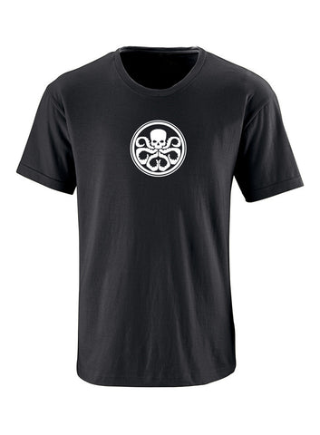 Hydra Logo Adult Short Sleeve 100% Cotton T-Shirt