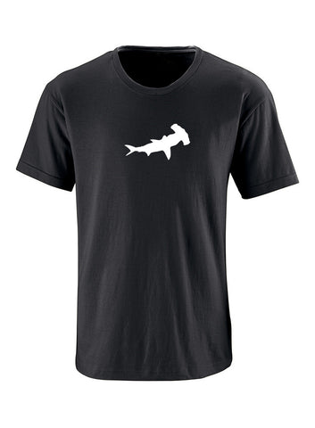 Hammerhead Shark Adult Short Sleeve 100% Cotton T-Shirt