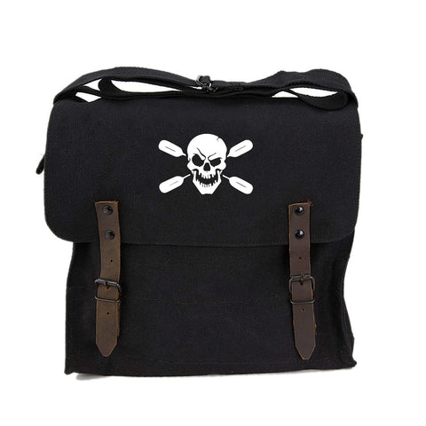Deadly Kayaker Paddle Army Heavyweight Canvas Medic Shoulder Bag