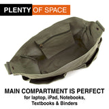 Jeep Wave Hand High Five Army Heavyweight Cotton Canvas Medic Shoulder Bag