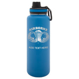 Personalized Engraved Overlord Airborne Stainless Steel Thermoflask Water Bottle