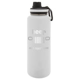 Personalized Engraved Jeepbeer Engraved Thermo Flask Water Bottle Stainless Steel Tumbler