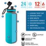 Personalized Engraved US Army Oval Bumper Sticker Engraved Thermo Flask Water Bottle Stainless
