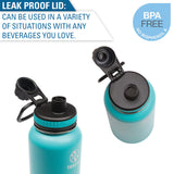 Personalized Engraved Heart With Dog Paw Puppy Love Thermo Flask Water Bottle Stainless Steel