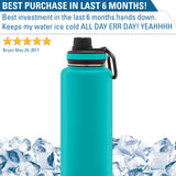Personalized Engraved Deadly Kayaker Paddle Stainless Thermoflask Water Bottle