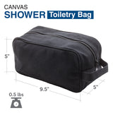 OCS Letters Officer Branch of Service Canvas Shower Kit Travel Toiletry Bag Case