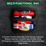 IAFF International Association of Fire Fighters Dual Compartment Toiletry Bag