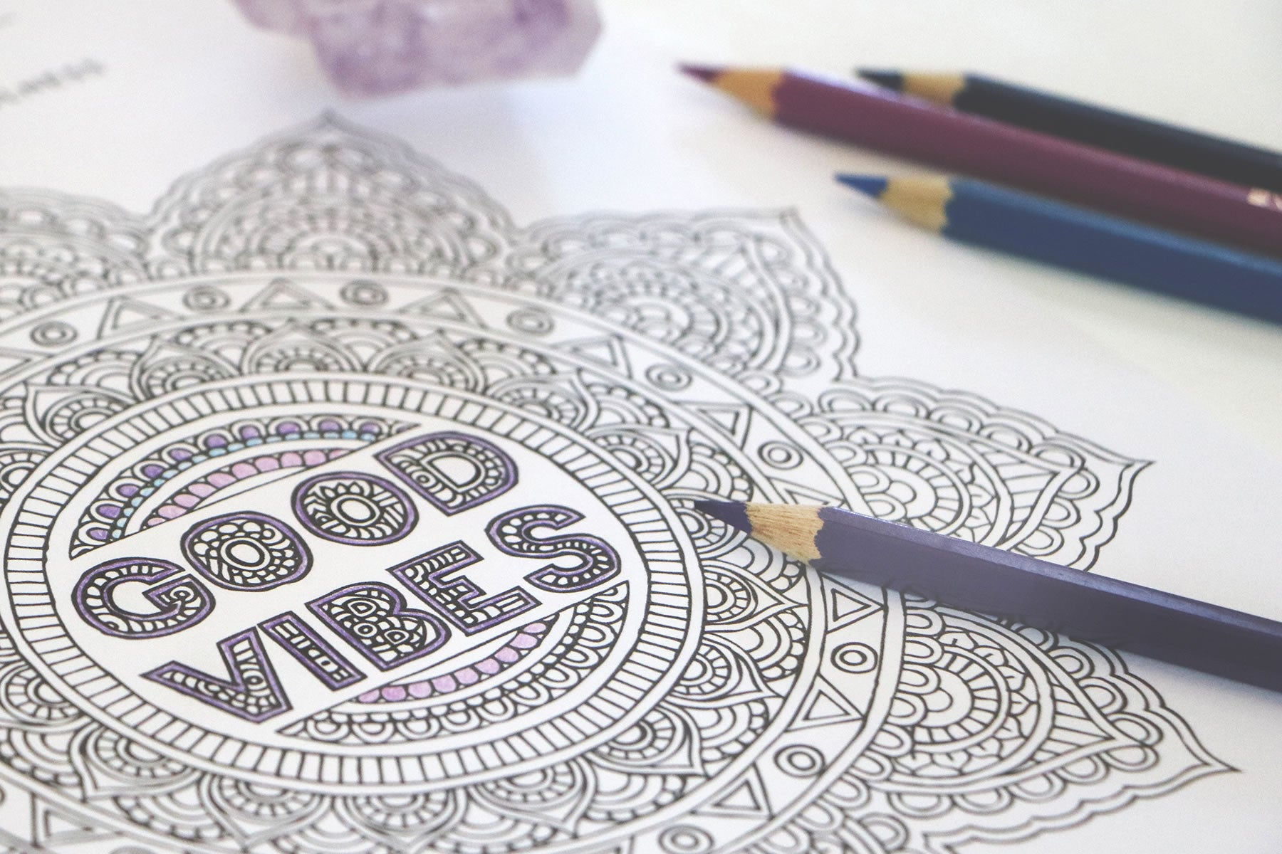 Colouring For Mindfulness