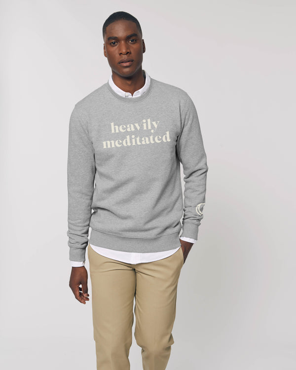 Heavily Meditated® Classic Sweatshirt - Grey