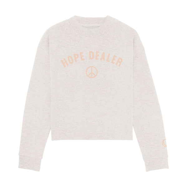 Hope Dealer Crop Sweatshirt