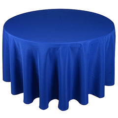 "120"" Round Polyester Tablecloths"