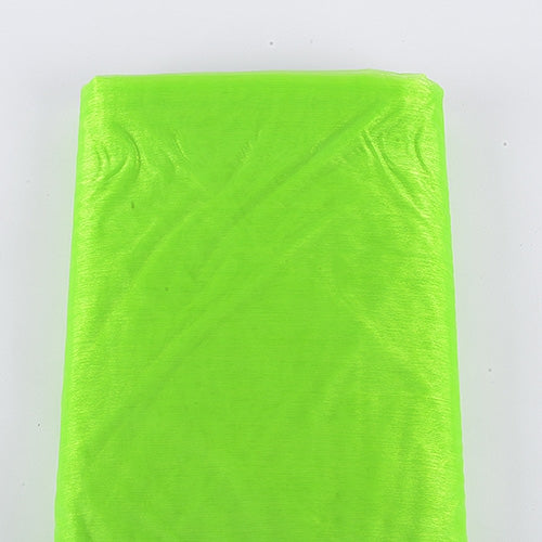 APPLE GREEN Premium ORGANZA Fabric 60x10 Yards