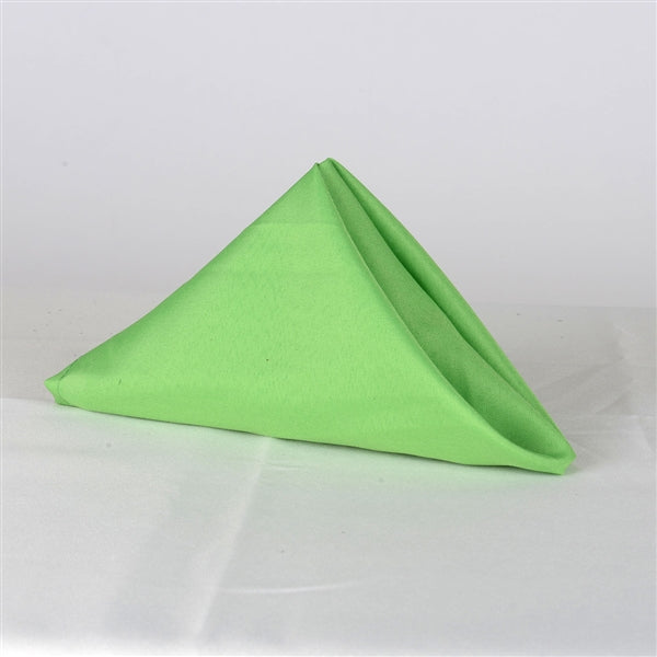APPLE GREEN 20 x 20 POLYESTER Napkins - 5 Napkins