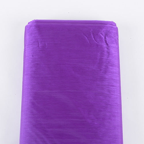 PURPLE 60 Inch ORGANZA Fabric 25 Yards