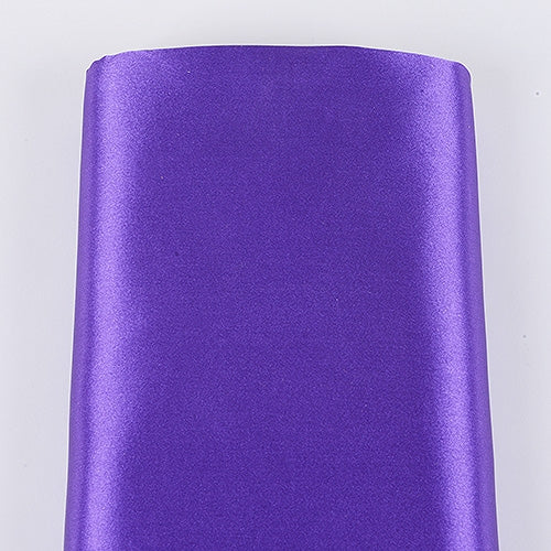 PURPLE 60 Inch SATIN Fabric 10 Yards