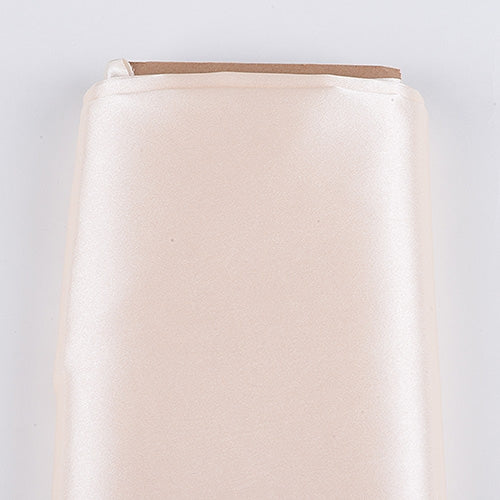 IVORY 60 Inch SATIN Fabric 10 Yards