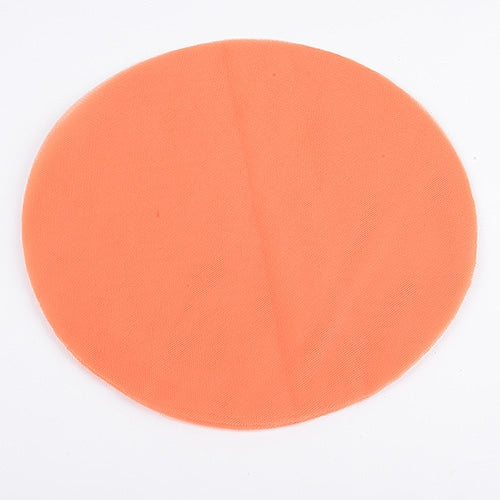 ORANGE Pre Cut 12 Inch Premium Tulle Circles 25 Pieces