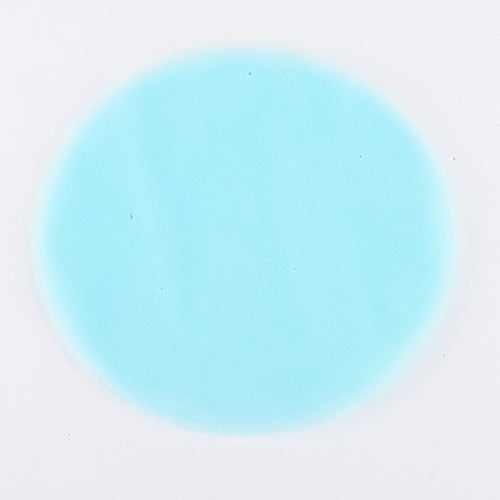 Aqua Blue Pre Cut 12 Inch Premium Tulle Circles 25 Pieces