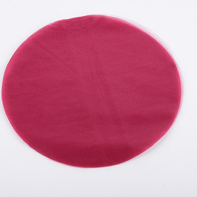 Wine Pre Cut 9 Inch Premium Tulle Circles 25 Pieces